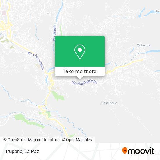 Irupana map