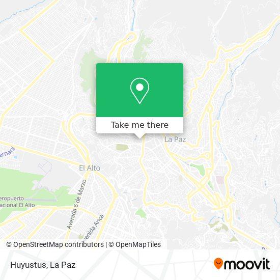 Huyustus map