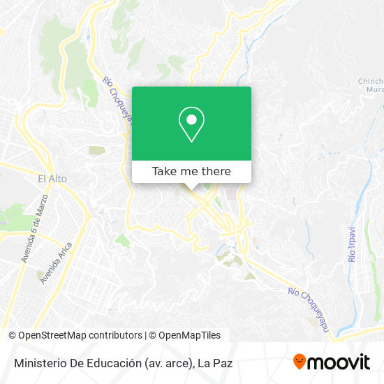 Ministerio De Educación (av. arce) map
