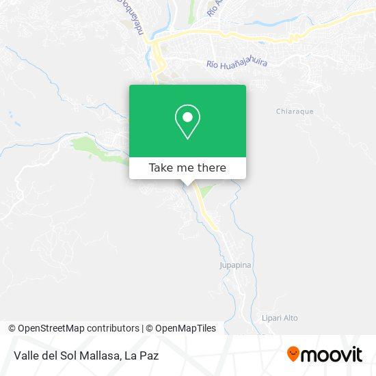 Valle del Sol Mallasa map