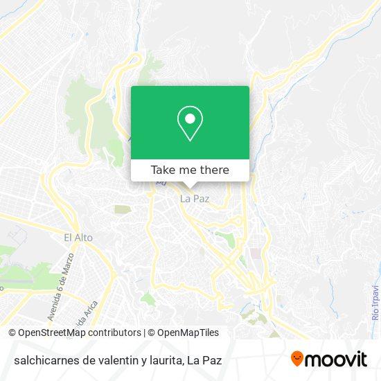 salchicarnes de valentin y laurita map