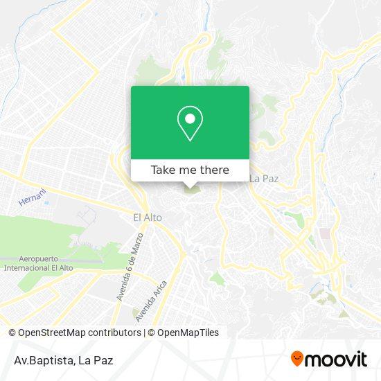 Av.Baptista map
