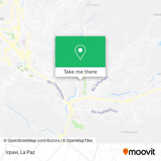 Irpavi map