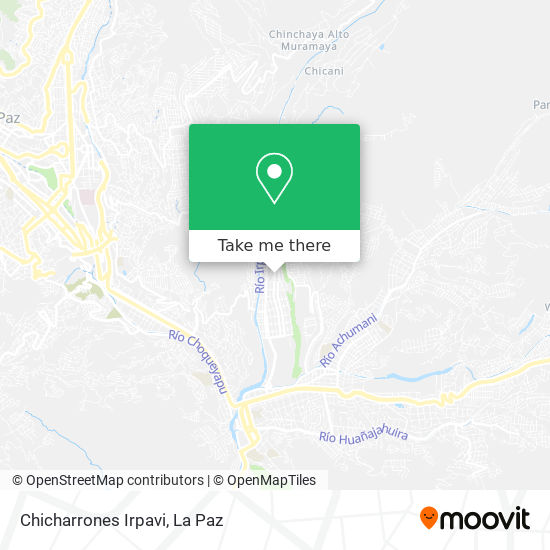 Chicharrones Irpavi map