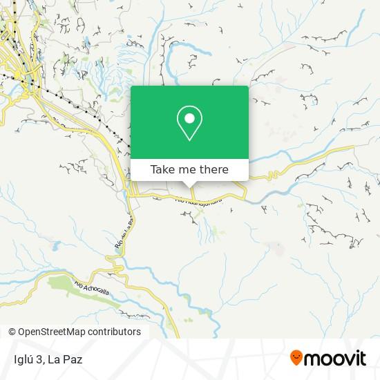 Iglú 3 map