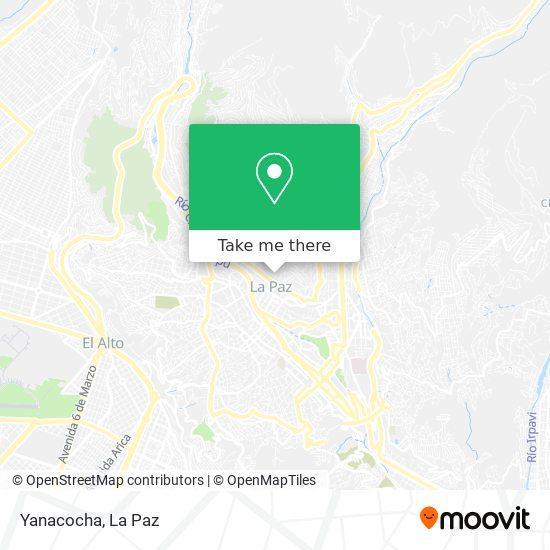 Yanacocha map