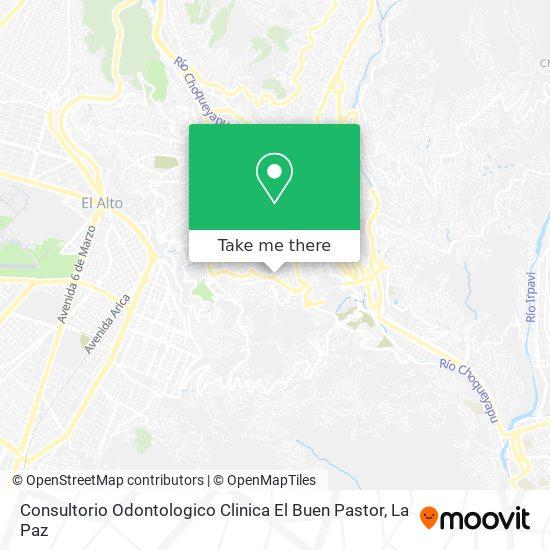 Consultorio Odontologico Clinica El Buen Pastor map