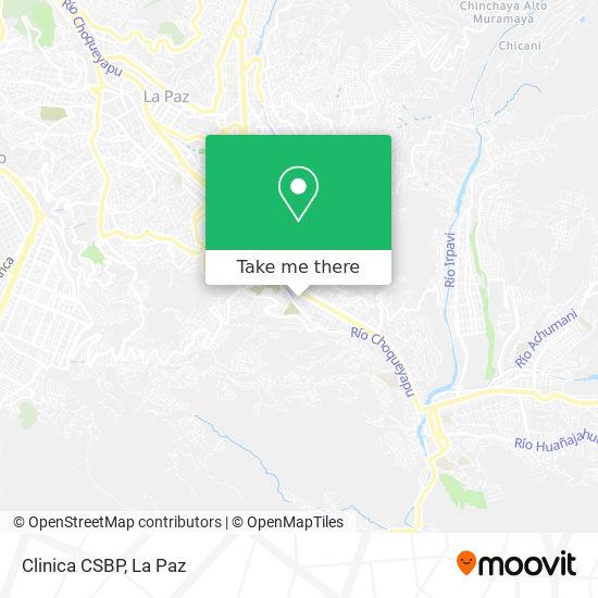Clinica CSBP map