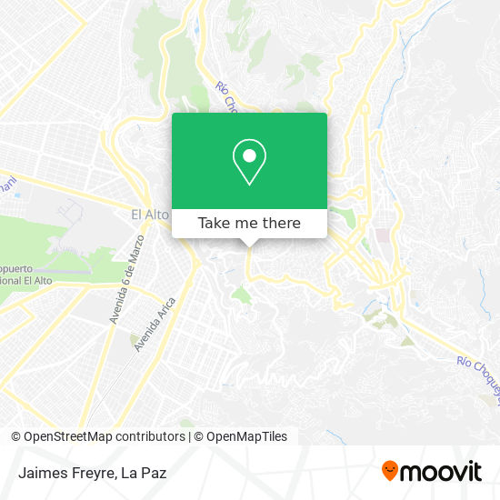 Jaimes Freyre map