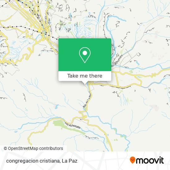 congregacion cristiana map