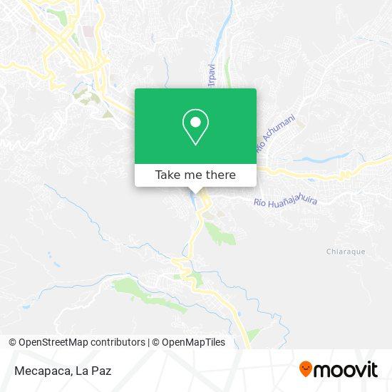 Mecapaca map