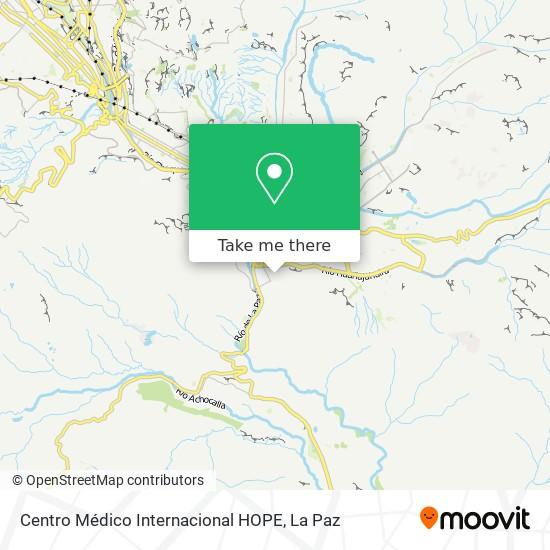 Centro Médico Internacional HOPE map