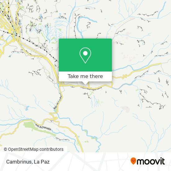 Cambrinus map