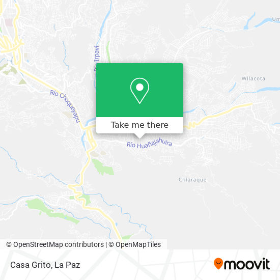 Casa Grito map