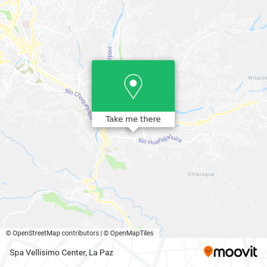 Spa Vellisimo Center map
