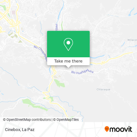 Cinebox map