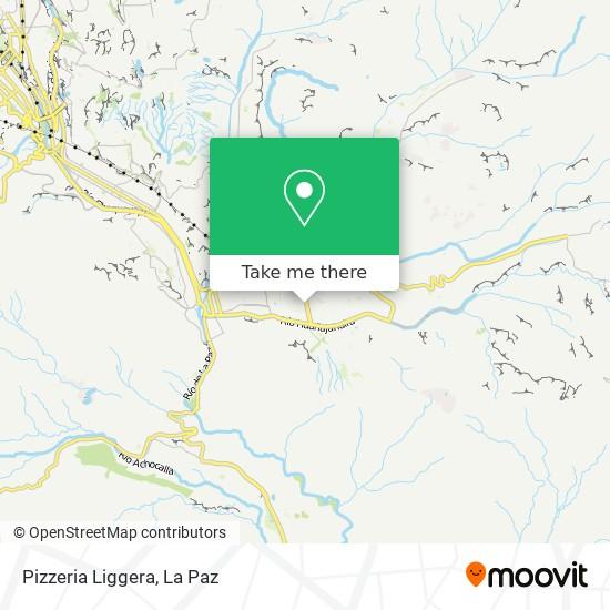 Pizzeria Liggera map