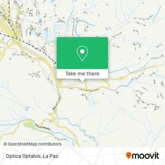 Optica Optalvis map