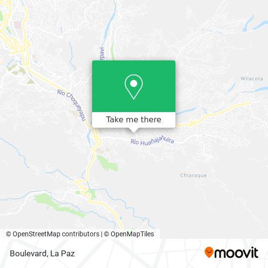 Boulevard map
