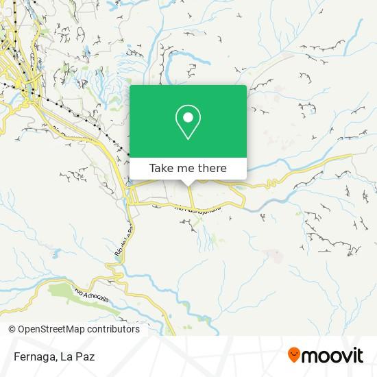 Fernaga map