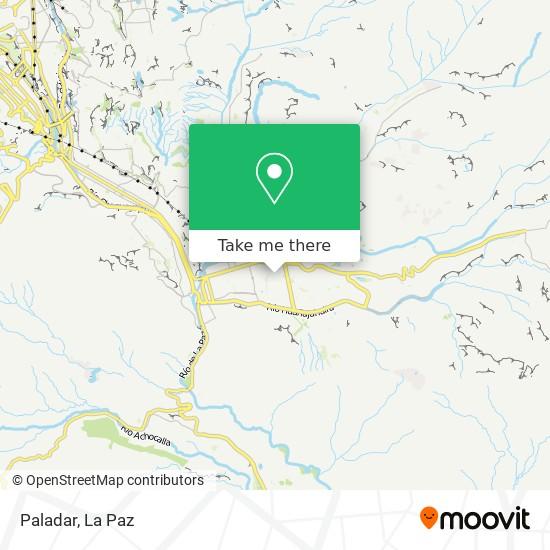 Paladar map