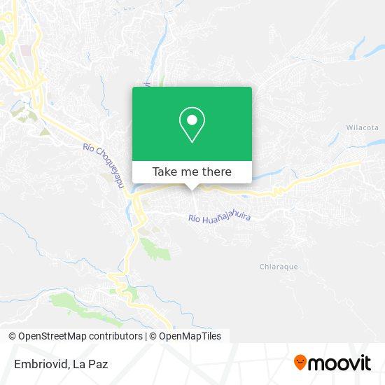 Embriovid map