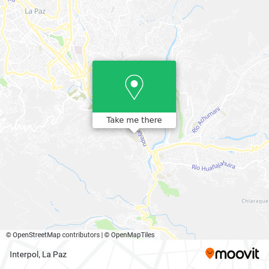 Interpol map