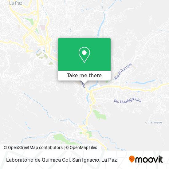 Laboratorio de Química Col. San Ignacio map