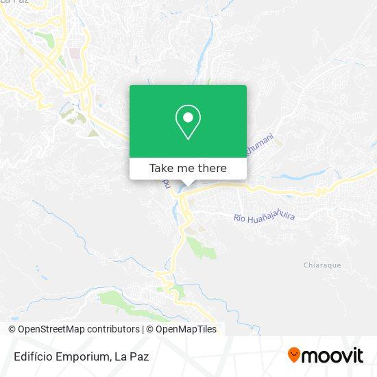 Edifício Emporium map