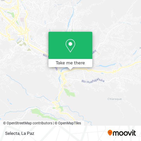 Selecta map