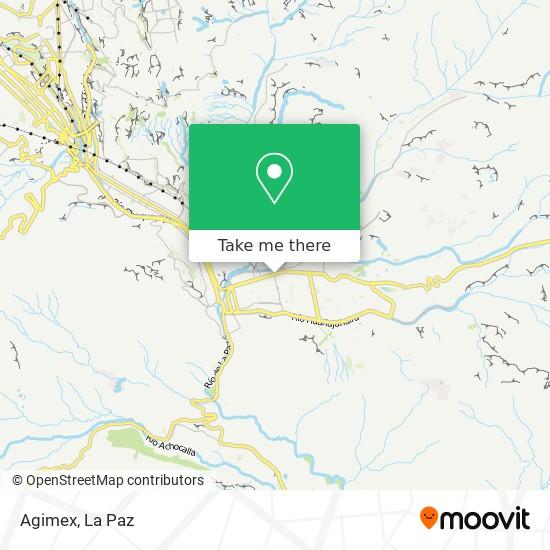 Agimex map