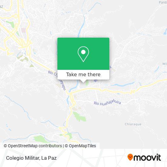 Colegio Militar map