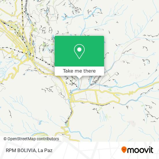 RPM BOLIVIA map