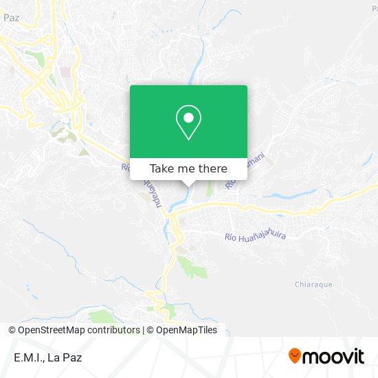 E.M.I. map