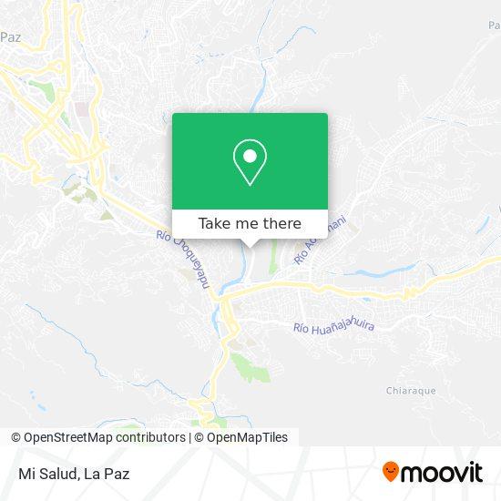 Mi Salud map
