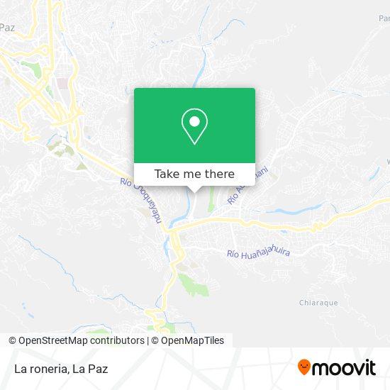 La roneria map