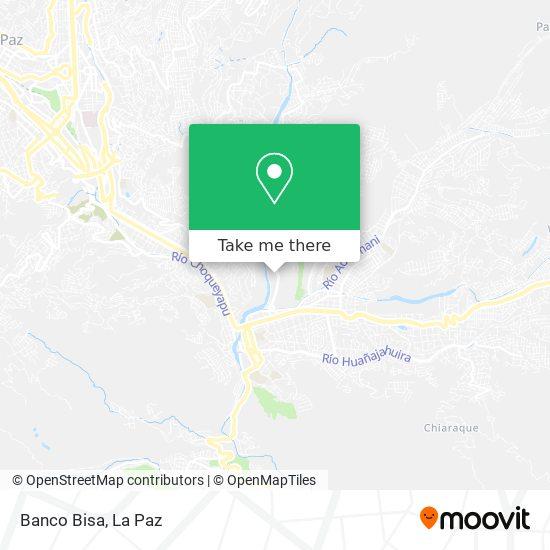 Banco Bisa map