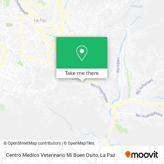 Centro Medico Veterinario Mi Buen Osito map