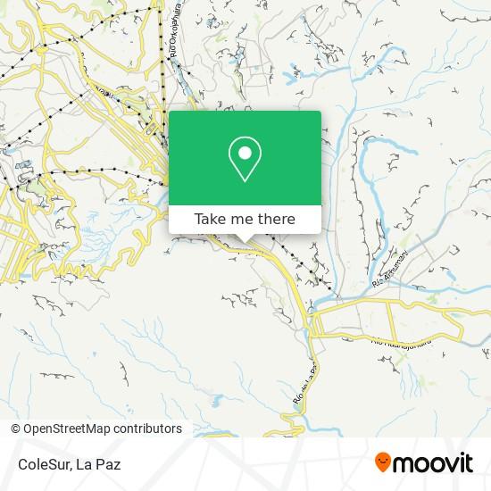 ColeSur map