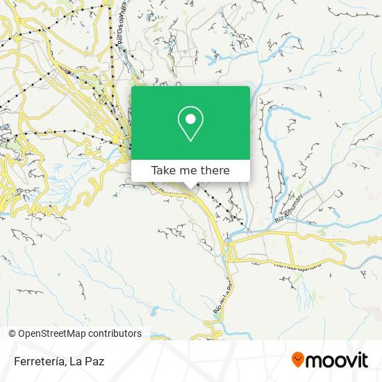 Ferretería map