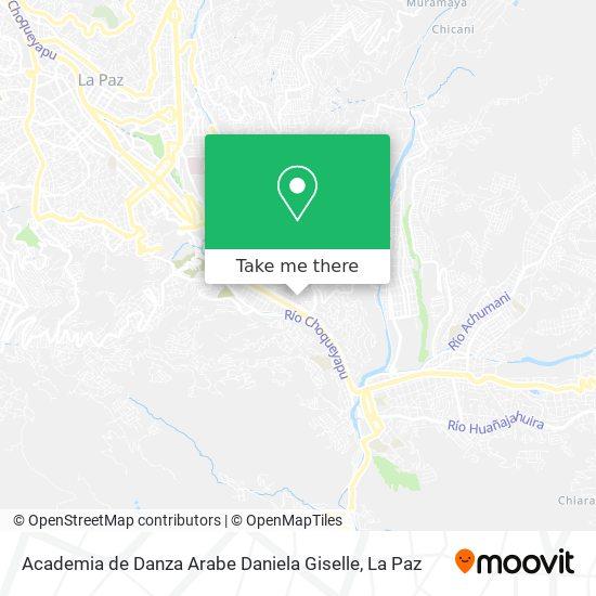 Academia de Danza Arabe Daniela Giselle map