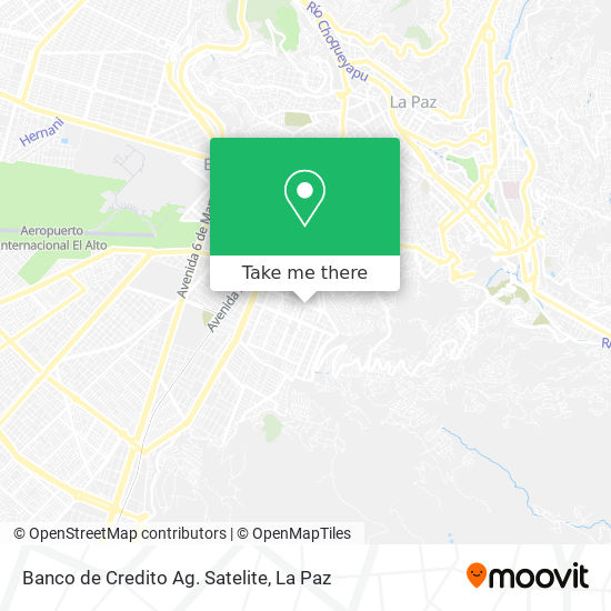 Banco de Credito Ag. Satelite map