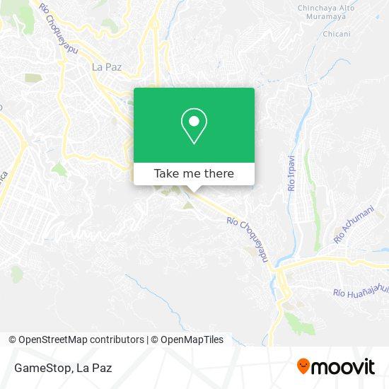 GameStop map