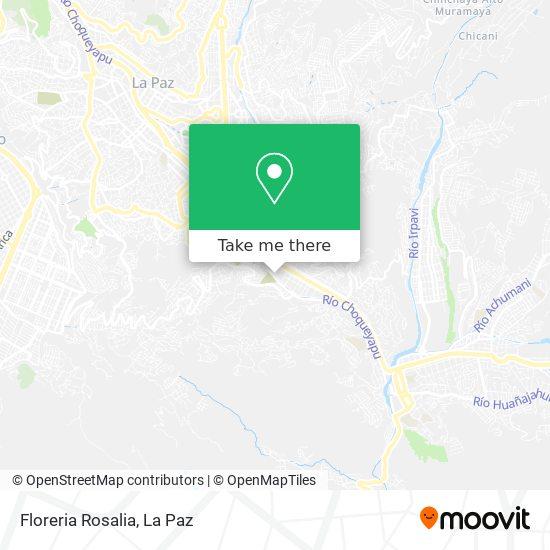 Floreria Rosalia map