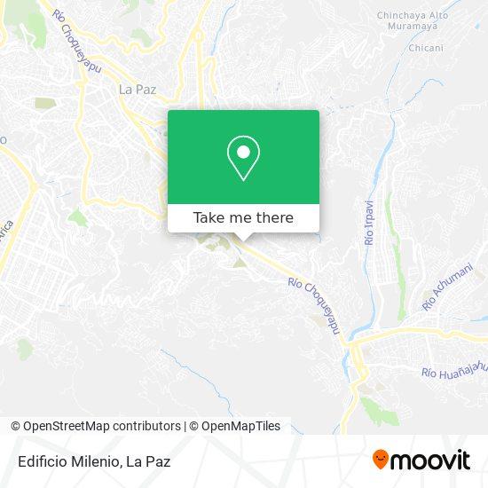 Edificio Milenio map