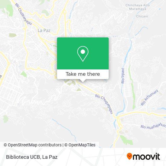 Biblioteca UCB map