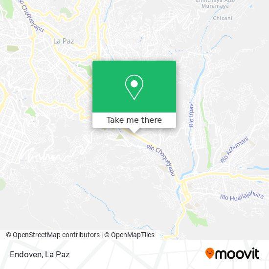 Endoven map