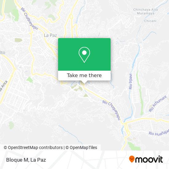 Bloque M map