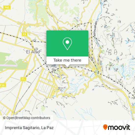 Imprenta Sagitario map
