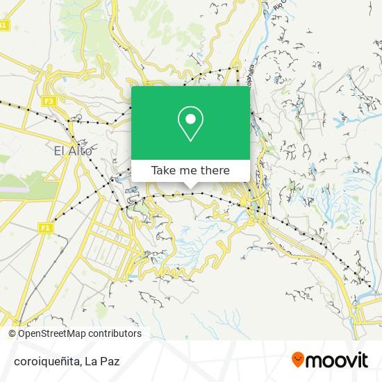 coroiqueñita map
